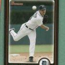 2010 Bowman Justin Verlander Detroit Tigers # 134