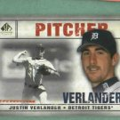 2009 Upper Deck SP Justin Verlander Detroit Tigers # 45