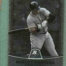 2010 Bowman Platinum Miguel Cabrera Detroit Tigers # 4
