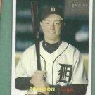 2006 Topps Heritage Brandon Inge Detroit Tigers # 355