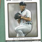 2009 Topps Ticket To The Majors Justin Verlander Detroit Tigers # 60