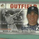 2008 Upper Deck SP Legendary Cuts Magglio Ordonez Detroit Tigers # 47
