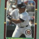1987 Donruss Opening Day Alan Trammell Detroit Tigers #216