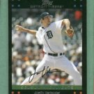 2007 Topps Updates & Highlights Justin Verlander Detroit Tigers # UH 212