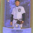 2010 Bowman Platinum Gold Jay Sborz Detroit Tigers Rookie #d / 539