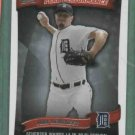 2010 Topps Peak Performance Max Scherzer Detroit Tigers