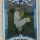 2008 Bowman Chrome Duane Below Detroit Tigers Rookie