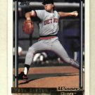 1992 Topps Gold Winner Paul Gibson Detroit Tigers