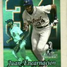 1999 Fleer Flair Showcase Passion Juan Encarnacion Detroit Tigers # 47