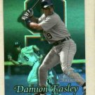 1999 Fleer Flair Showcase Passion Damion Easley Detroit Tigers