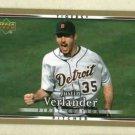 2007 Upper Deck First Edition Justin Verlander Detroit Tigers # 89