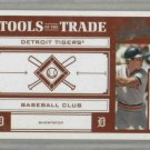 2004 Playoff Tools Of The Trade Alan Trammell / 200 Detroit Tigers