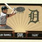 2004 Leaf Certified Cuts Stars Alan Trammell / 599 Detroit Tigers