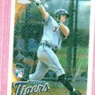 2010 Topps Chrome Brennan Boesch ROOKIE Detroit Tigers # 182