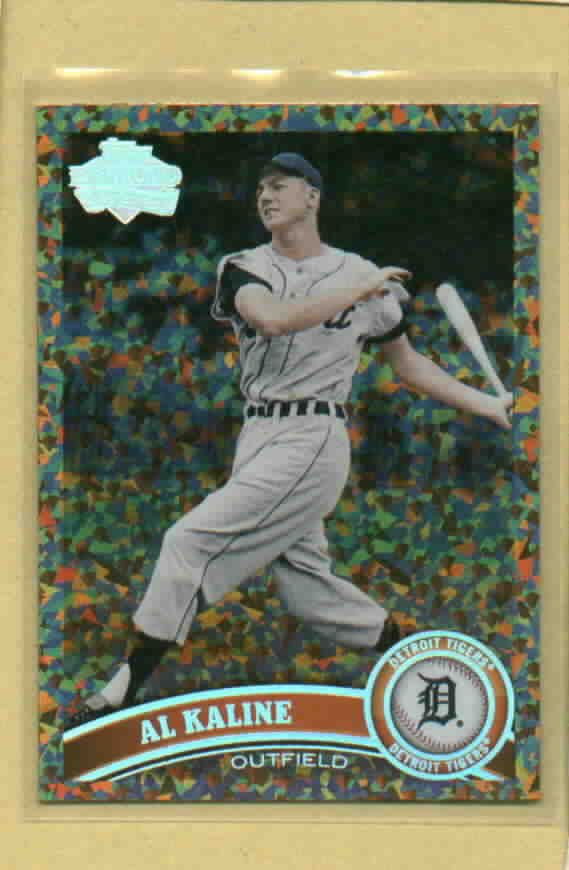 2011 Topps Update Cognac Diamond Variation Al Kaline Detroit Tigers # US230 RARE