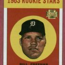 2001 / 1963 Topps Archives Bill Freehan Rookie Detroit Tigers # 43