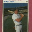 1979 Hostess Steve Kemp Detroit Tigers # 15 Oddball