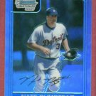 2006 Bowman Chrome Refractor Nate Bumstead Detroit Tigers Rookie #d/ 500