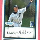 2009 Bowman Chrome Mauricio Robles Detroit Tigers Rookie # BCP150