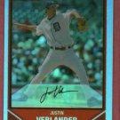 2007 Bowman Chrome Refractor Justin Verlander Detroit Tigers # 2