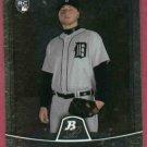 2010 Bowman Platinum Jay Sborz Detroit Tigers Rookie #28