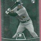 2010 Bowman Platinum Austin Jackson Detroit Tigers Rookie # 79