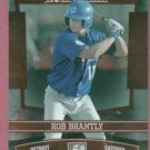 2010 Donruss Elite Extra Edition Rob Brantly Detroit Tigers Rookie # 60