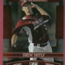 2010 Donruss Elite Extra Edition Drew Smyly Detroit Tigers Rookie # 33
