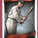 2010 Topps Peak Performance Ty Cobb Detroit Tigers # 50