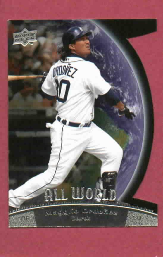 2010 Upper Deck All World Magglio Ordonez Detroit Tigers # AW13