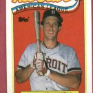 1989 Topps All Star Alan Trammell Detroit Tigers # 400