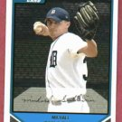 2007 Bowman Michael Sullivan Detroit Tigers Rookie # BP25