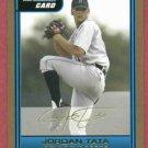 2006 Bowman Gold Jordan Tata Detroit Tigers Rookie # B62