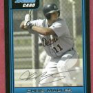 2006 Bowman Chris Maples Detroit Tigers Rookie # B45