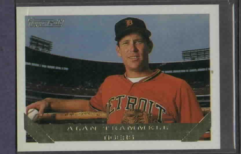 1993 Topps Gold Alan Trammell Detroit Tigers # 660