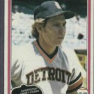 1981 O Pee Chee Alan Trammell Detroit Tigers # 133