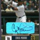2005 Donruss Craig Monroe Detroit Tigers Autograph # 181