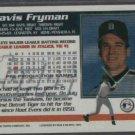 1994 Topps Pre Production Sample Travis Fryman Detroit Tigers # PP5 RARE