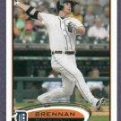 2012 Topps Series 1 Brennan Boesch Detroit Tigers # 166
