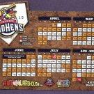 2012 Toledo Mudhens Magnet Schedule SGA Mud Hens