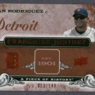 2008 Upper Deck Franchise History Ivan Rodriguez Detroit Tigers #D 13/149 # FH-21