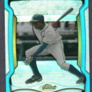 2009 Topps Finest Refractor Blue Curtis Granderson Detroit Tigers Yankees # 102 #D 7/399