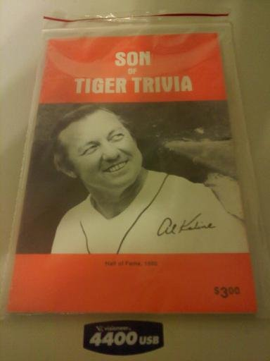 Detroit Tigers Son Of Tiger Trivia Al Kaline