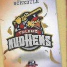 2013 Toledo Mud Hens Pocket Schedule Detroit Tigers