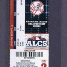 2012 ALCS Detroit Tigers New York Yankees Home Game 2 Ticket Yankee Stadium