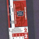 2012 ALDS Ticket Detroit Tigers Home Game 2 Oakland A's