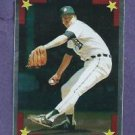 1986 Topps Silver All Star Sticker Jack Morris Detroit Tigers Oddball # 163