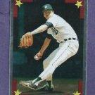 1986 Topps Silver All Star Sticker Jack Morris Detroit Tigers Oddball # 163