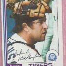 1982 O Pee Chee John Wockenfuss Detroit Tigers # 46