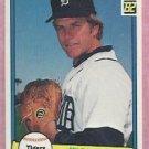 1982 Donruss Milt Wilcox Detroit Tigers # 233